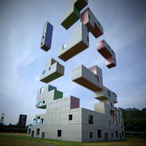 Sanaa Tetris